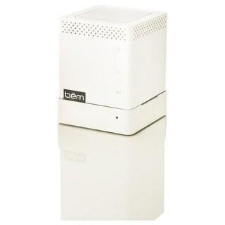 Bem Speaker System - Wireless Speaker(s) - Portable - White - (Refurbished)