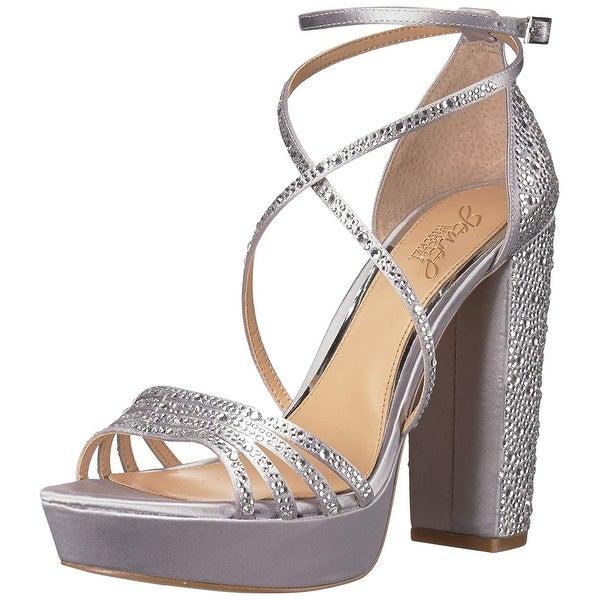 cbf2e0b3034 Shop Badgley Mischka Jewel Women s Tarah Heeled Sandal - 7.5 - Free ...