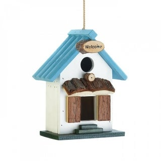 2 Small Wood Birdhouses