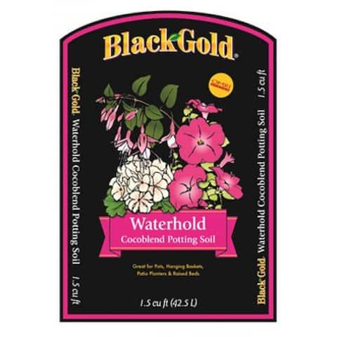 Black Gold Waterhold Potting Mix, 2 cu.ft.