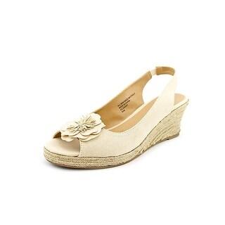 Karen Scott Womens Dashy Peep Toe Casual Platform Sandals