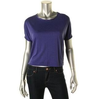 Zara W&B Collection Womens Slub Dolman Sleeves Pullover Top - M