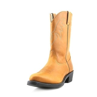 "Durango TR762 11"" Truck'n Men Round Toe Leather Brown Western Boot"