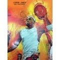 Basketball Poster Black Sports History (18x24) - Multi-Color - Thumbnail 4