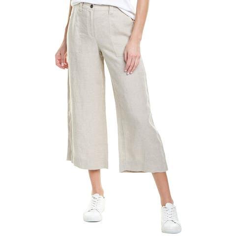 B. New York Wide Leg Linen Pant