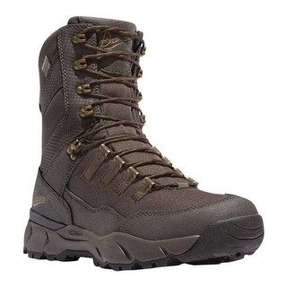"Danner Men's Vital 8"" Mid Calf Boot Brown Leather/Textile"