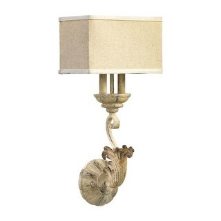 Quorum International 5237-2 Florence 2 Light Wall Sconce