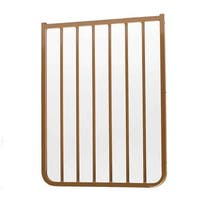 """Cardinal Gates Stairway Special Outdoor Gate Extension Brown 21.75"""" x 1.5"""" x 29.5"""""""