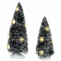 Department 56 Accessories for Villages Winter Flurries Tree (Set of 2)