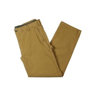 G.H. Bass & Co. Mens Cargo Pants Canvas Carpenter