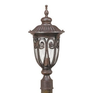 Nuvo Lighting 60/2069 Single Light Up Lighting Outdoor Post Light from the Corniche Collection