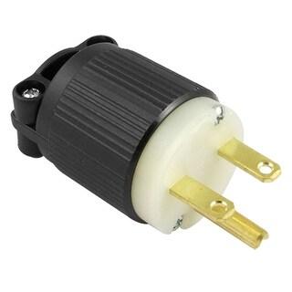 J-716 Nema 6-15P Non-locking 3-prong Power Plug Replacement AC 250V 15A