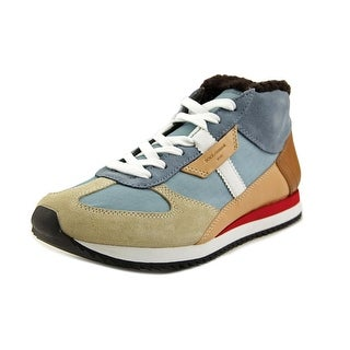 Dolce & Gabbana CS1094 Men Round Toe Leather Multi Color Sneakers