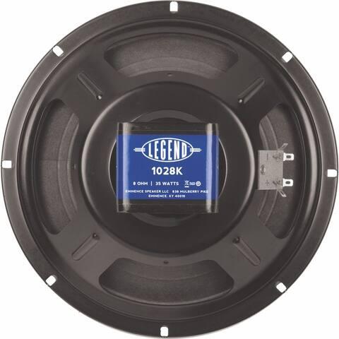 10-In Guitar Speaker, 35W, 8 Ohms W/Copper Voice Coil