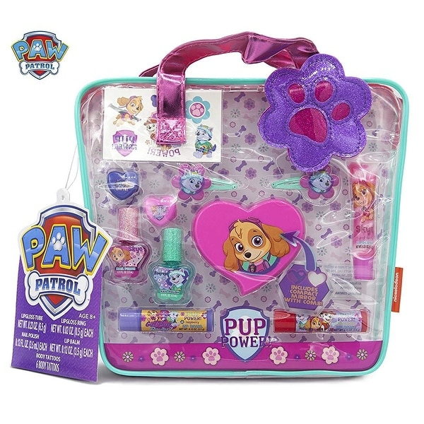 Paw Patrol Cosmetics In Tote Bag Assorted Set Pretend Play Toys