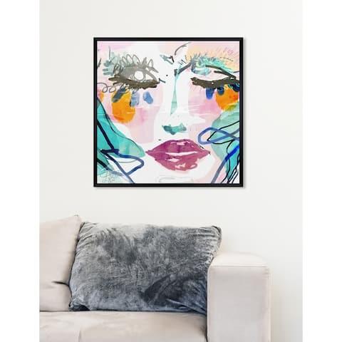 Oliver Gal 'Gina' Abstract Framed Wall Art