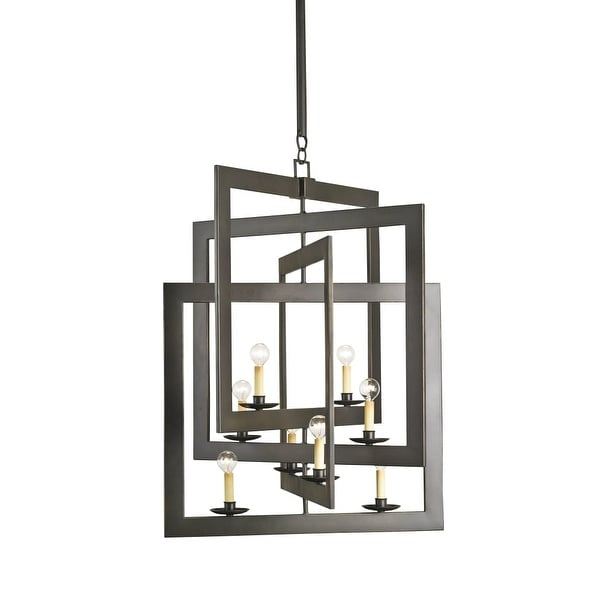 Currey and Company 9927 Middleton 8 Light Single Tier Chandelier - bronze gold
