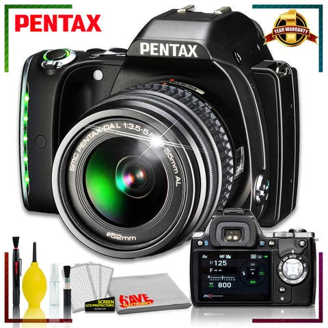 Pentax K-S1 DSLR Camera with 18-55mm Lens with Accessory Kit