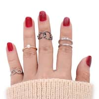 Mad Style Serenity Fingertip Ring Set - Multi Color
