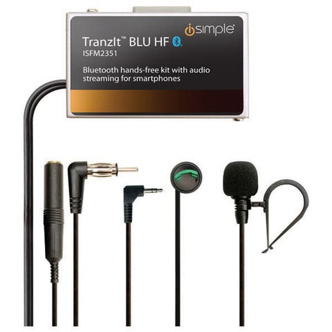 Pac isfm2351 pac bluetooth hands free kit with audio streaming for smart phones