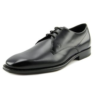 Tod's DerbyCuoio Classico TZ Square Toe Leather Oxford