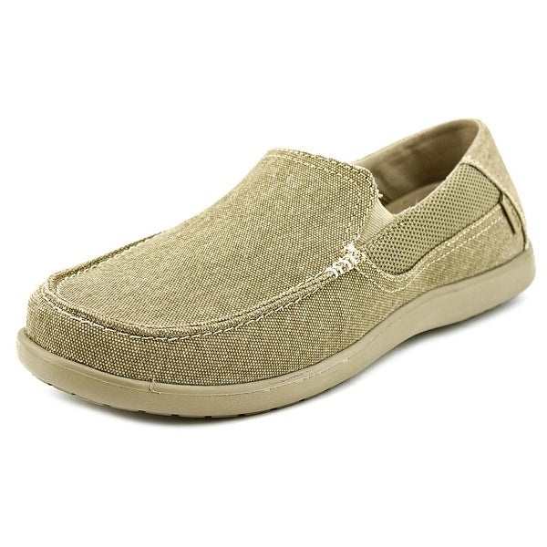 Crocs Santa Cruz 2 Men Round Toe Synthetic Tan Loafer