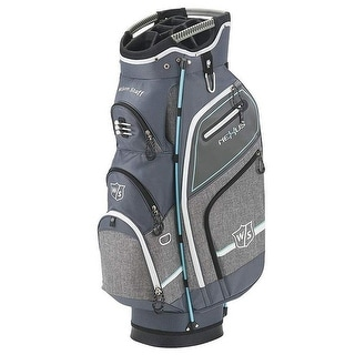 New Wilson Staff Nexus III Cart Bag Gray / Blue - Gray / Blue