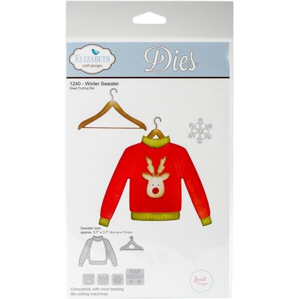 Elizabeth Craft Metal Die-Winter Sweater