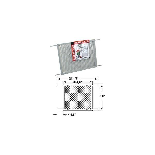 PRIME-LINE Gray Screen& Door Grille