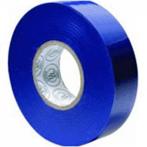 "Gardner Bender GTB-667P All Weather Electrical Tape, Blue, 3/4"" W x 66' L"