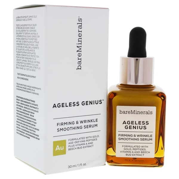 Ageless Genius Firming And Wrinkle Smoothing Serum By Bareminerals For Women - 1 Oz Serum. Opens flyout.