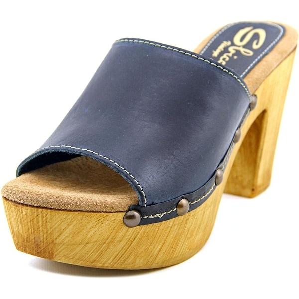 Sbicca Taffy   Open Toe Leather  Platform Sandal