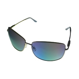 Esprit Womens Sunglass 19309 543 Silver Metal Fashion Avaitor, Light Blue Lens - Medium