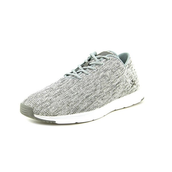 Ransom Field Lite Men Round Toe Canvas Gray Running Shoe