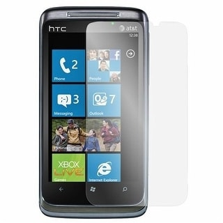 AT&T Premium Screen Protectors for HTC Surround T8788. 3 pack + Cleaning cloth