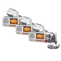 Uniden UM380BK 2-Pack VHF Two Way Marine Radio with Solara/Class D Operation