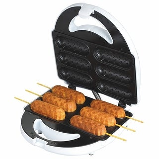Corn Dog Maker - Baked Not Fried - Great for Other Food on a Stick