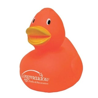 Assurance SP6556 Orange Rubber Duck Toy