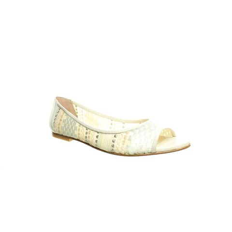 French Sole Womens Noir White Sandals Size 9.5