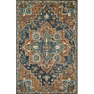 Link to Alexander Home Madeline Wool Hand-Hooked Heritage Rug Similar Items in Transitional Rugs
