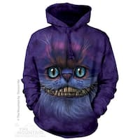 Big Face Cheshire Cat Hoodie Adult Hoodie