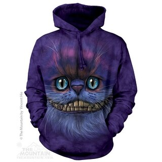 Big Face Cheshire Cat Hoodie Adult Hoodie (3 options available)