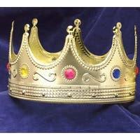 Regal King Adult Costume Crown