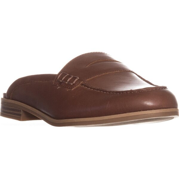 naturalizer Villa Backless Penny Loafers, Saddle Tan
