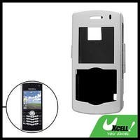 Metal Case with Belt Clip for Blackberry 8100 Silver