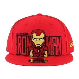 Tokidoki Men's Marvel Invincible Iron Man New Era 9Fifty Snapback Hat