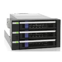 ICY DOCK Storage MB153SP-B 3x3.5inch SATA 2x5.25inch Bay Hot-Swap HDD Backplane Retail