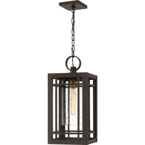 Pelham Outdoor Hanging Lantern - Western Bronze