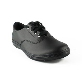 Grasshoppers Womens Janey Ii BlackLeather Fashion Shoes Size 7