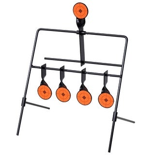 vidaXL Auto Reset Spinner Shooting Target with 4 + 1 Targets
